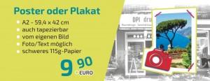 Unser Dauerbrenner, das Poster in DIN A2 für 9,90 € inkl. MwSt!