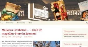 Der magellan-store. Ein kleines feines Einzelhandelsgeschäft aus Bremen.