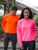 Sweatshirts in vielen Farben und Formen vorrätig